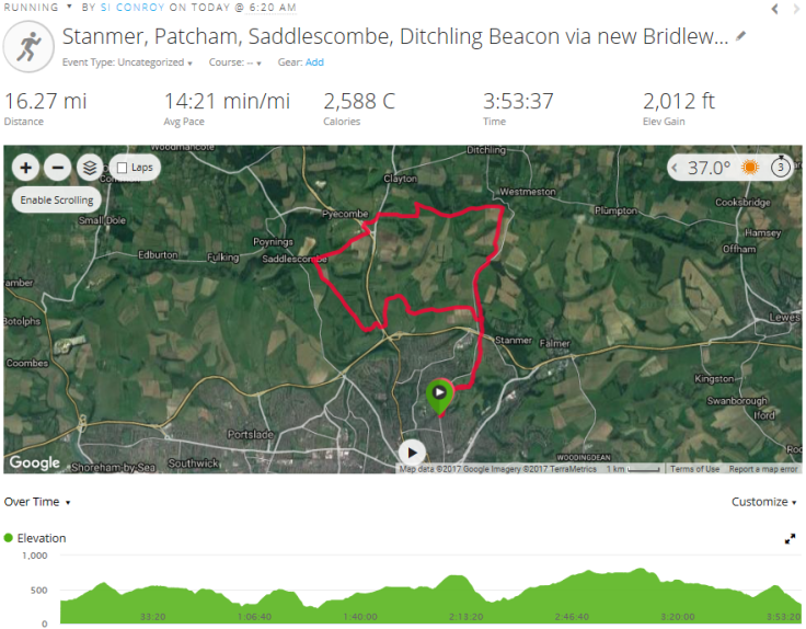 stanmer-patcham-saddlescombe-ditchling-beacon-via-new-bridleway-16-miles