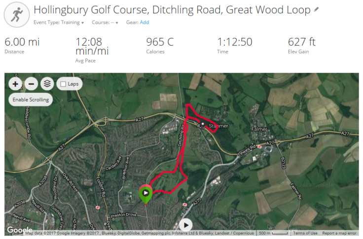 Hollingbury Golf Course, Ditchling Rd, Great Wood Loop